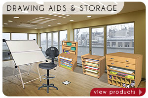 Drawing Aids + Storage