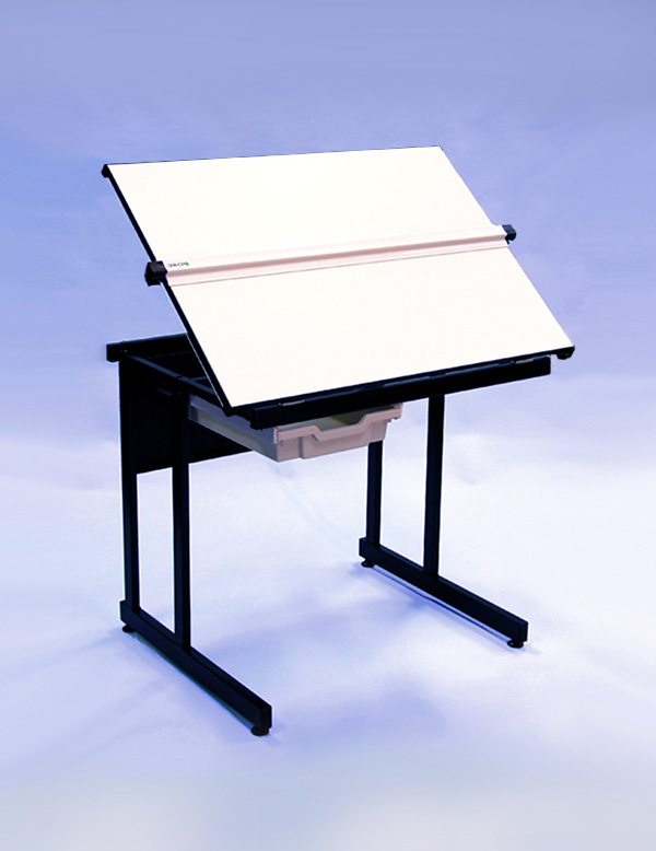 An image of A1 Lift Up Drawing Table - Counter Weight