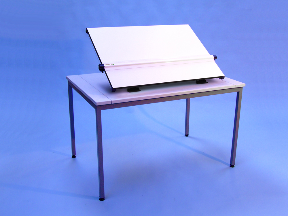 An image of A1 Flip Top Drawing Table - Straight leg