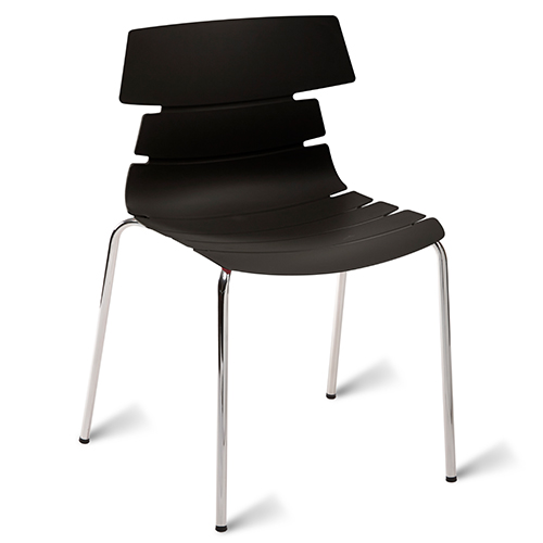 An image of Hoxton Classroom Chair - Black