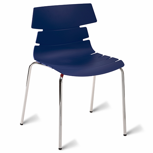 An image of Hoxton Classroom Chair - Navy