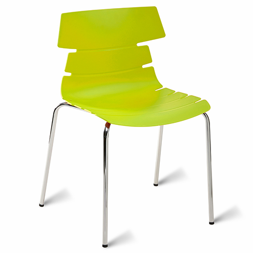 An image of Hoxton Classroom Chair - Lime