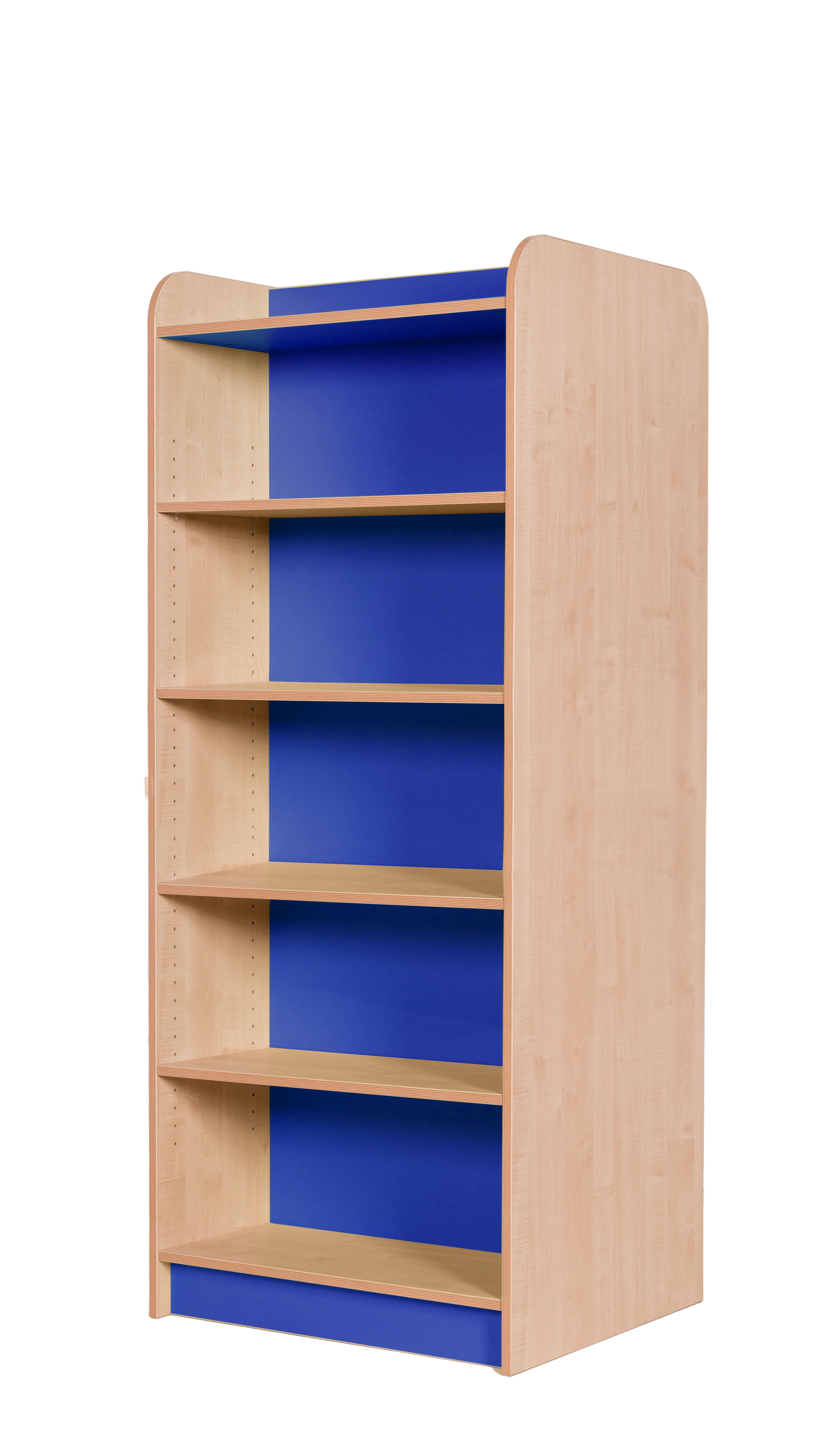 satisfying duras caetano sided bookcase by azea of victor design double