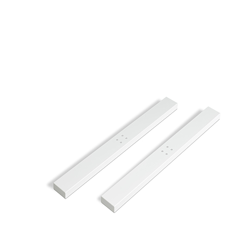 An image of Advance Height Adjustable White Protective Foot Cover x 2