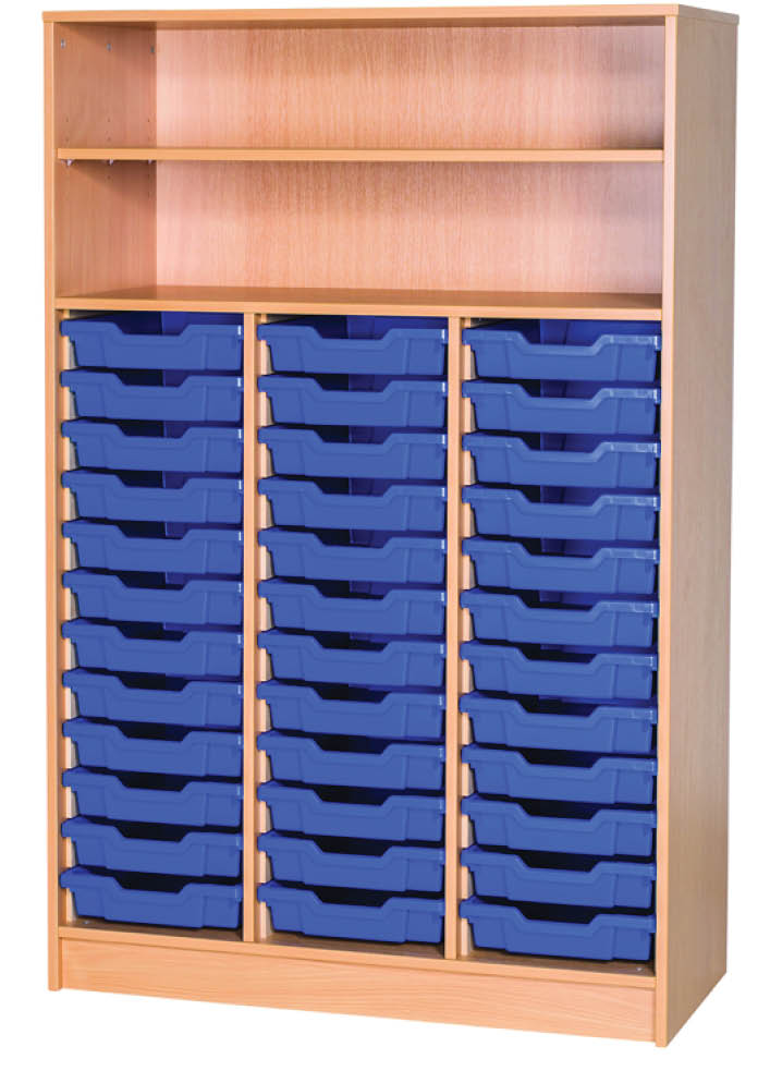 An image of 36 Tray Triple Unit with Shelves