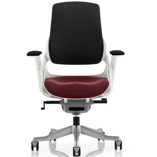 An image of Zephyr Executive Office Chair - Ginseng Chilli Seatpad with Arms