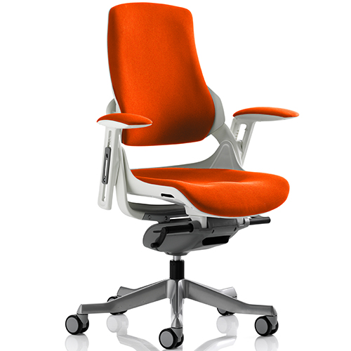 An image of Zephyr Tobasco Red Executive Office Chair - With Arms