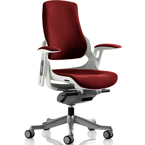 An image of Zephyr Ginseng Chilli Executive Office Chair - With Arms