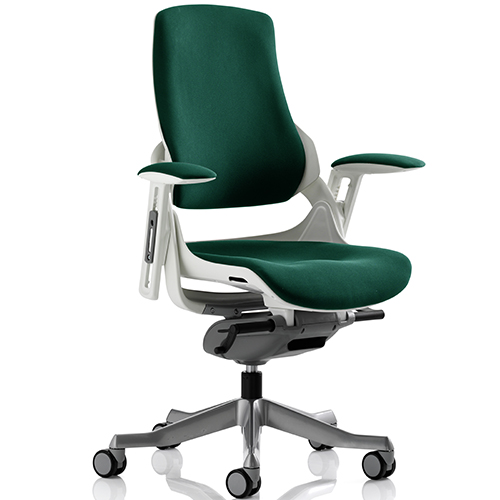 An image of Zephyr Teal Executive Office Chair - With Arms